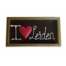CHOCOLADETABLET I LOVE LEIDEN