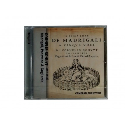 CD CORNELIS SCHUYT DE MADRIGALI