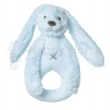 HAPPY HORSE RABBIT RICHIE RATTLE BLAUW