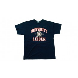 LEIDEN UNIVERSITY T-SHIRT BLAUW  XL