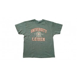LEIDEN UNIVERSITY T-SHIRT GRIJS XL
