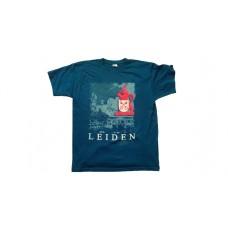 LEIDEN T-SHIRT LIBERTATIS BLAUW  M