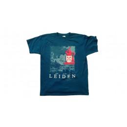 LEIDEN T-SHIRT LIBERTATIS BLAUW  XL